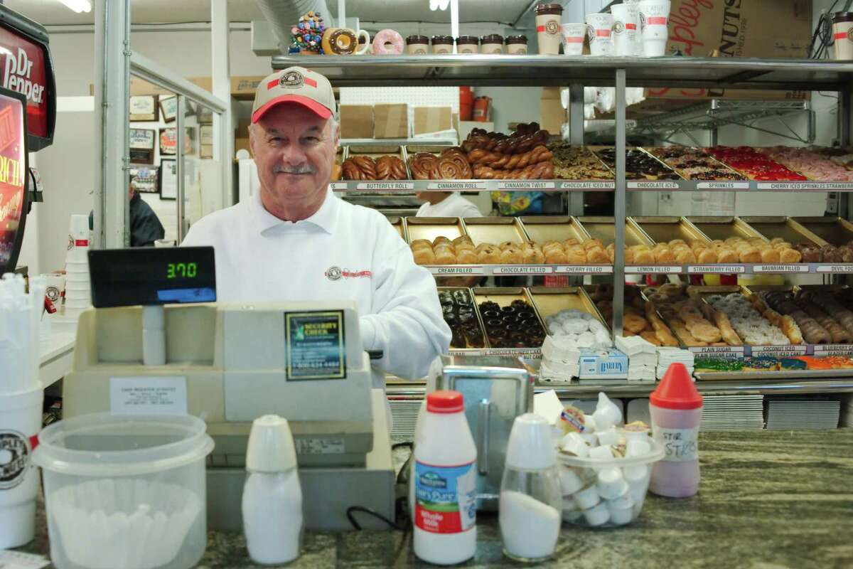 HOUSTON BUSINESSES THAT HAVE SERVED GENERATIONS A.L. Luprete and his wife, Merrie, have owned the Shipley Do-Nuts in League City for almost 42 years. The shop is a favorite haunt for city officials, police officers and longtime residents who remember eating there as children. Click through the slideshow to see more of the Houston area's longest-running businesses.