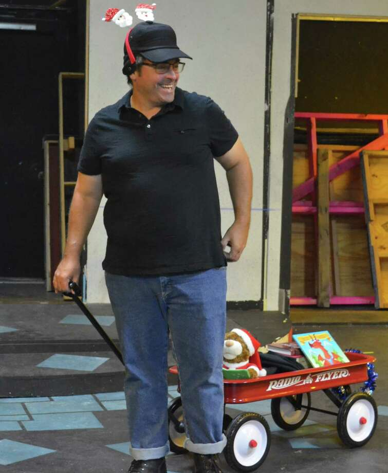 """Jeff Merriman of Pearland plays a part-time employee at a cafe in """"Christmas Belles."""""""