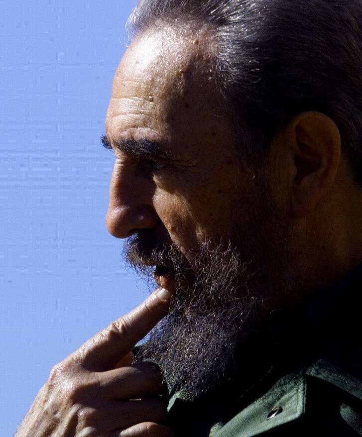 Fidel Castro held power longer than any living national leader except Britain's Queen E lizabeth II.