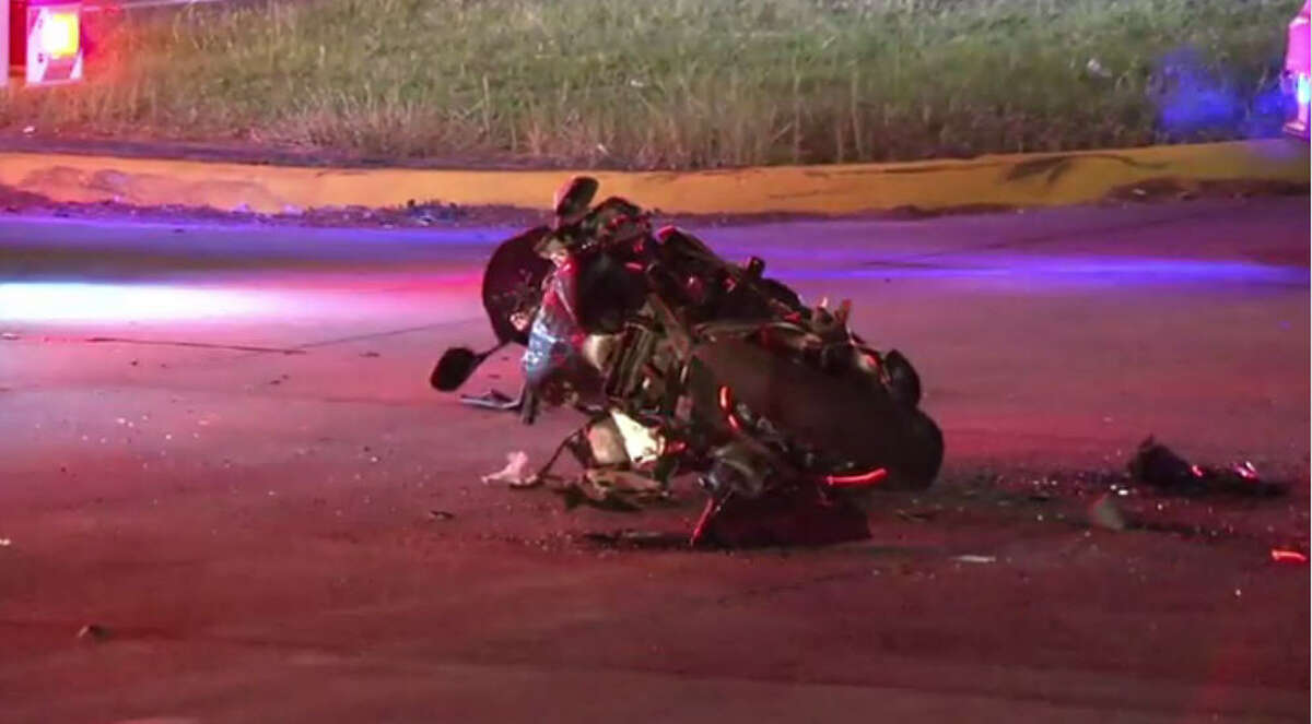 A man was killed in an overnight crash.