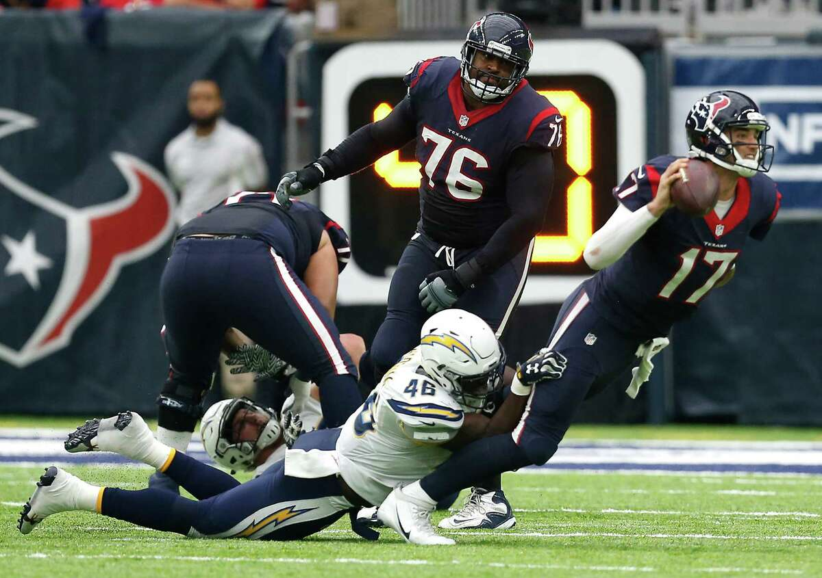 Quarterback Brock Osweiler took a big step backward after his competent performance against Oakland. He was erratic from the start, failing to throw a touchdown pass. He ran for the team's only touchdown. Overall, a terrible game for the quarterback. Grade: F-minus