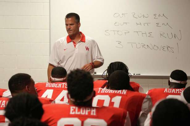Houston defensive coordinator Todd Orlando will serve as interim coach through UH's bowl. Orlando is also a candidate to succeed Tom Herman.