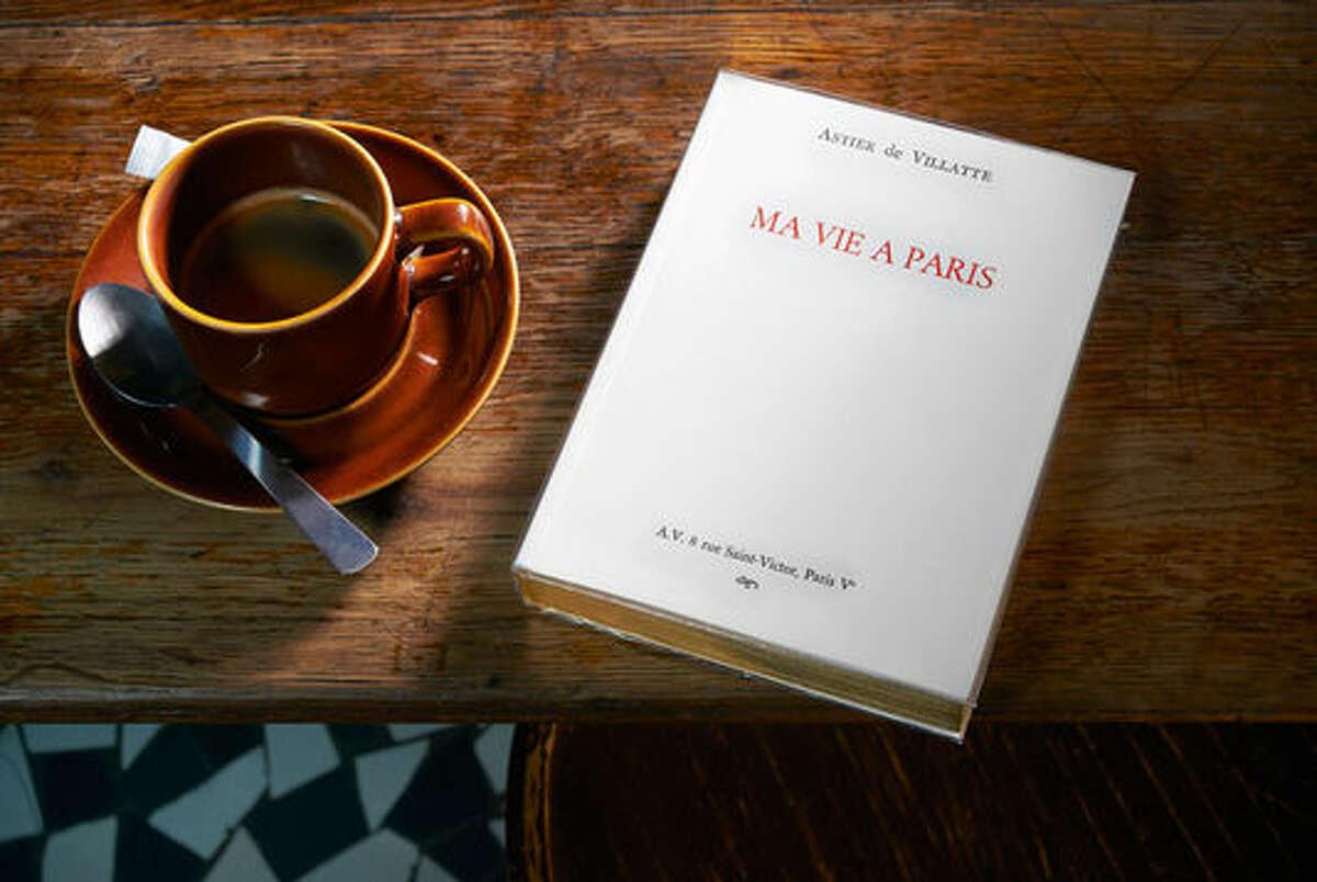 "French designer/artists Ivan Pericoli and Benoit Astier de Villatte are the authors of ""Ma vie a Paris."""