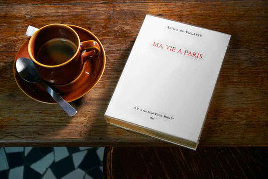 "French designer/artists Ivan Pericoli and Benoit Astier de Villatte are the authors of ""Ma vie a Paris."" Photo: Courtesy Photo"