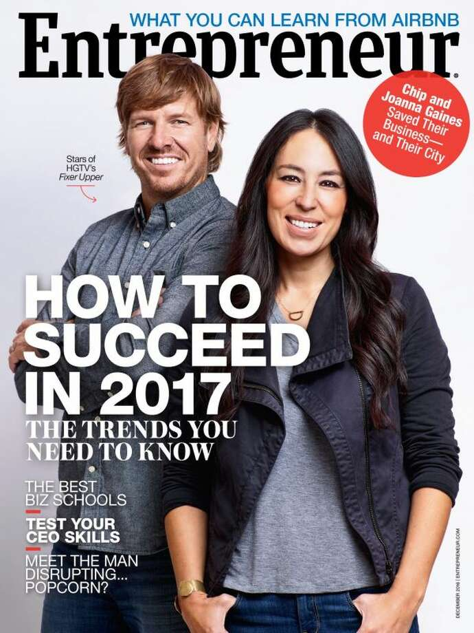 Waco's Chip and Joanna Gaines discuss how they helped shape Waco's entrepreneurial scene in this month's issue of Entrepreneur magazine.