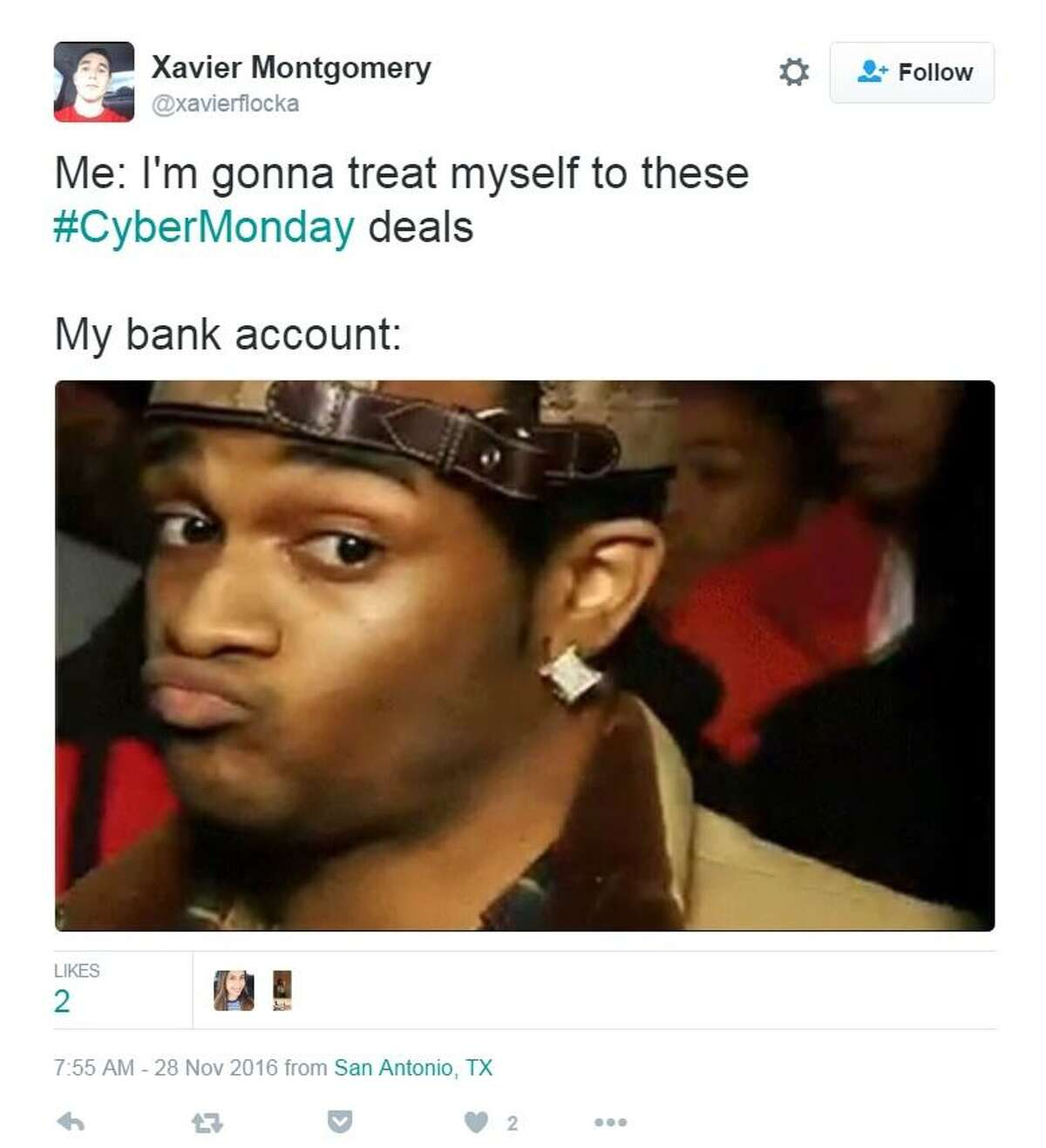 Cyber Monday brings out all sorts of humor on social media.