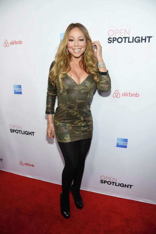 MARIAH CAREY: It would be nice to see more style, less of Mariah's cleavage.   Photo: Frazer Harrison, Getty Images For Airbnb / 2016 Getty Images