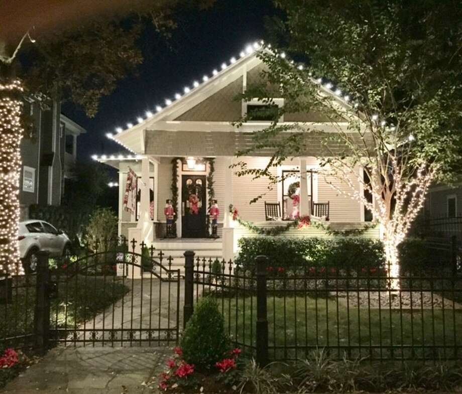 Trudy Nelson's home is one of six homes featured on the Heights Holiday Home Tour Dec. 2 and 3, 2016. Photo: Trudy Nelson