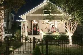 Trudy Nelson's home is one of six homes featured on the Heights Holiday Home Tour Dec. 2 and 3, 2016.