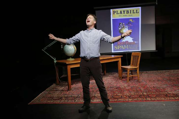 """Martin Moran in the 2013 Off-Broadway production of """"All The Rage."""""""