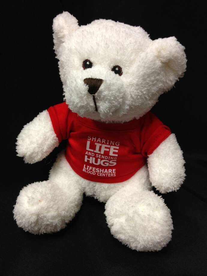 Anyone donating blood at a LifeShare center now through Dec. 10 has an opportunity to send a special message that will be attached to a stuffed animal, and given to a child in the hospital later this December. LifeShare's Beaumont location is at 4305 Laurel Street and is open Monday through Friday from 8 a.m. to 5 p.m. and on Saturday from 8 a.m. to noon. Photo: LifeShare