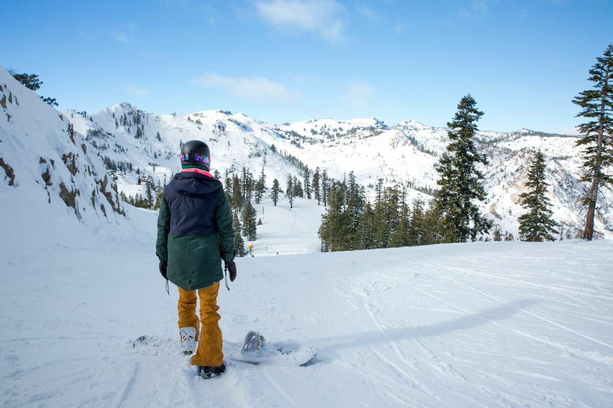 Up to 25 inches of snow fell over the Thanksgiving weekend at Squaw Valley Alpine Meadows and Alpine Meadows.