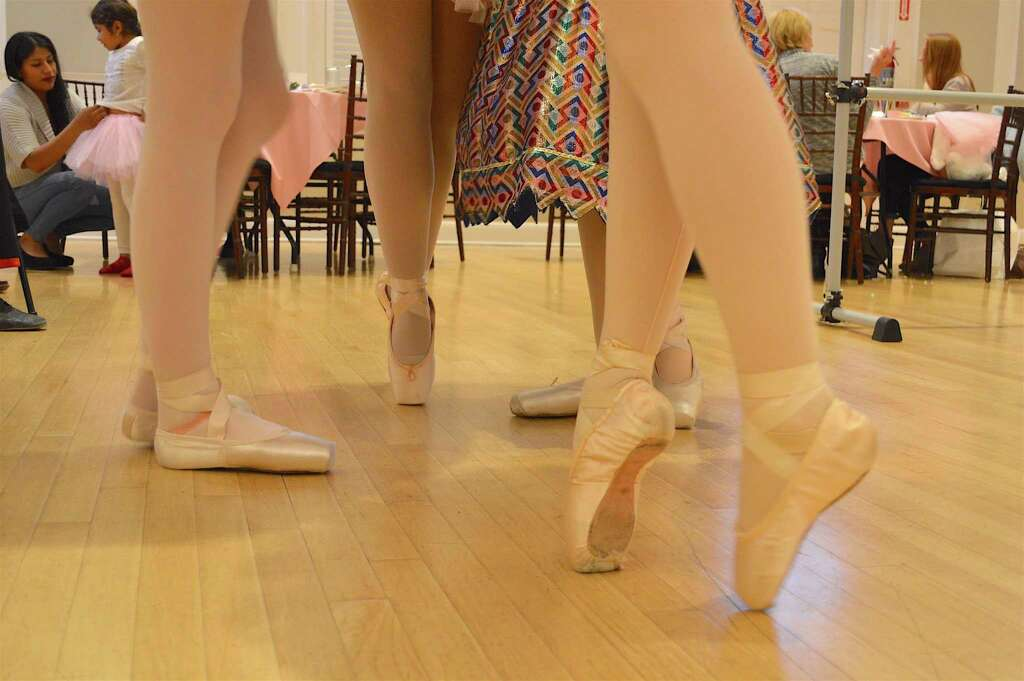 Dancing Shoes At The Westport Woman S Club 3rd Annual Nuter Tea Party Saay Nov