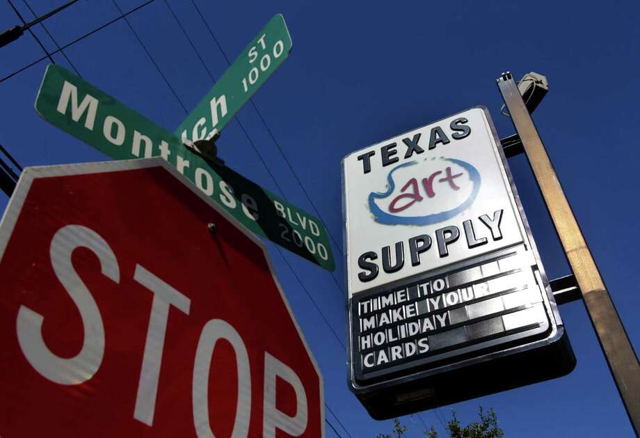 Texas Art Supply's main location on Montrose Avenue, Tuesday, Nov. 15, 2016, in Houston. ( Mark Mulligan / Houston Chronicle ) Photo: Mark Mulligan, Staff / © 2016 Houston Chronicle