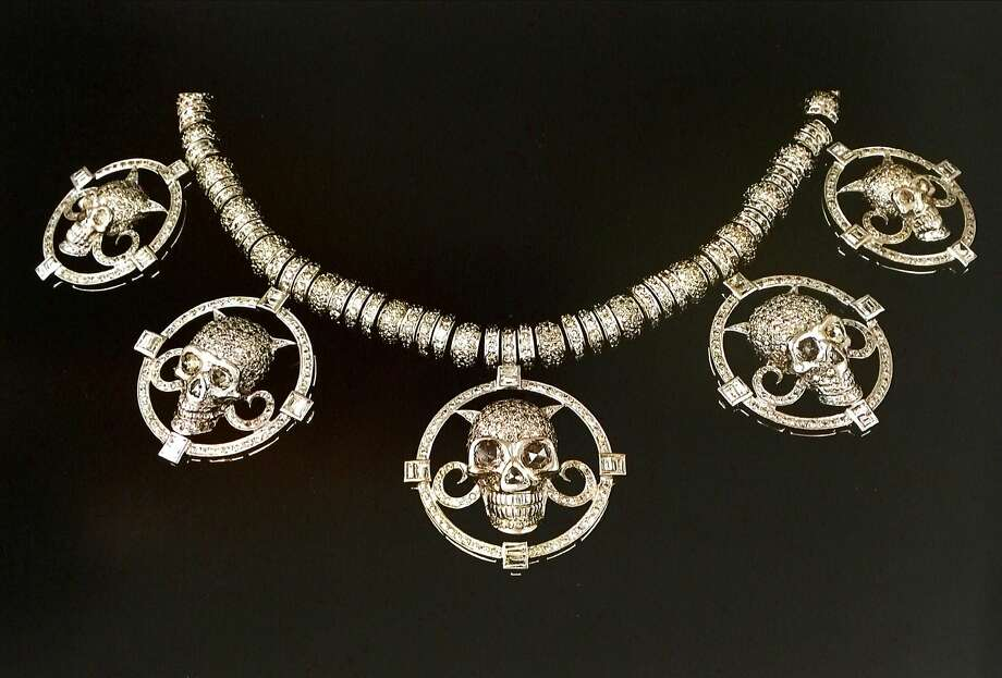 An upcoming exhibition at Serge Sorokko Gallery in S.F. will showcase the jewelry of Italy's Codognato, a company that dates to 1866 and celebrates the macabre in earrings, rings and necklaces. Photo: Codognato