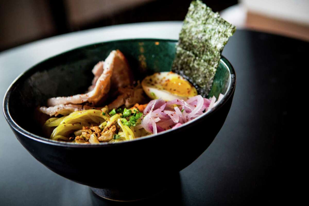 Tonkotsu ramen from Nao Ramen House in Rice Village. The restaurant at 5510 Morningside is opening Dec. 1.