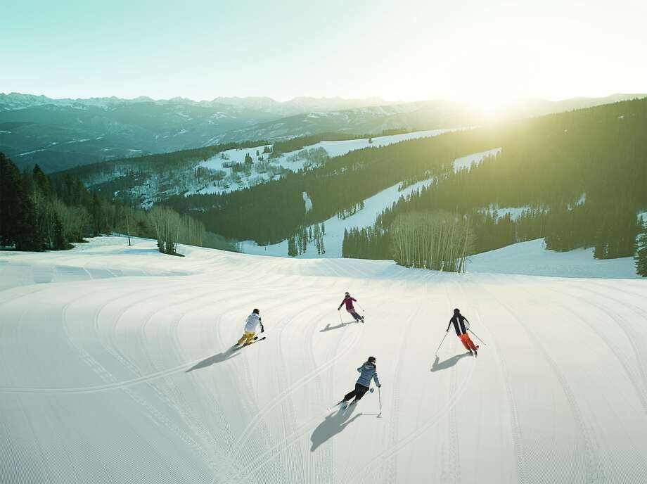 Those who purchase Beaver Creek's White Glove Package can participate in Golden Ticket First Tracks, traversing the mountain before it opens to the public. Photo: Vail Resorts