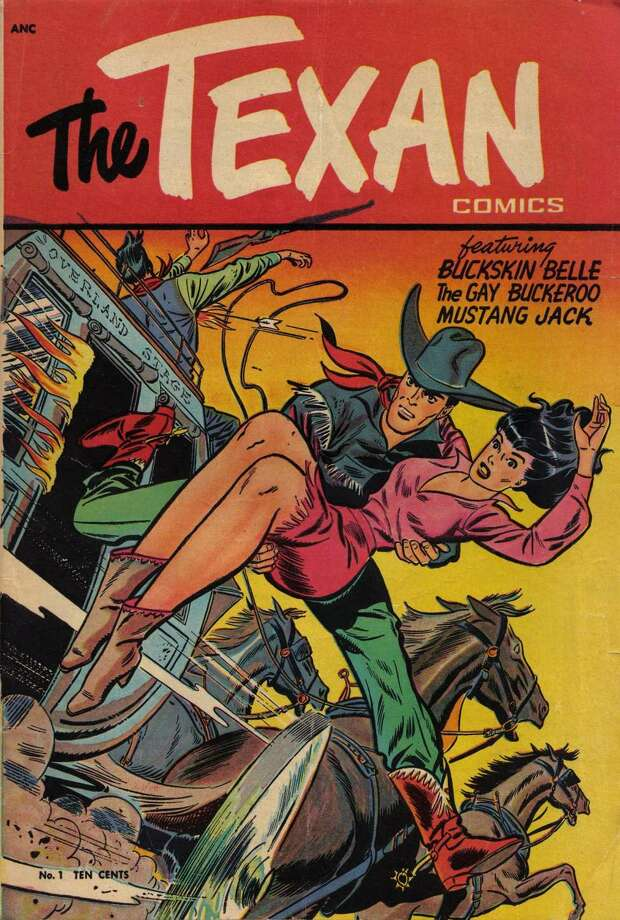 The Texan Comic Book Offered Dusty Dangerous Escapism