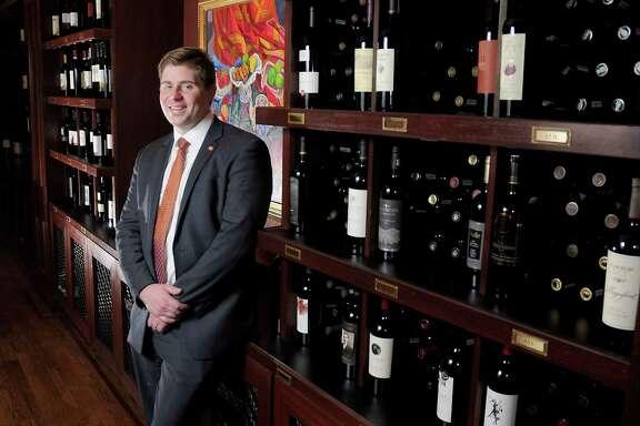 Master Sommelier Jack Mason will split his time at Houston's two Pappas Bros. Steakhouses.
