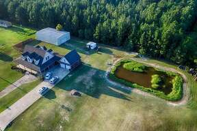 4396 SHAKESPEARE ROAD, KOUNTZE, TEXAS 77625    $269,000   4 bedrooms; 3 full, 2 half bathrooms. 2,738 sq. ft.    See the listing  here .