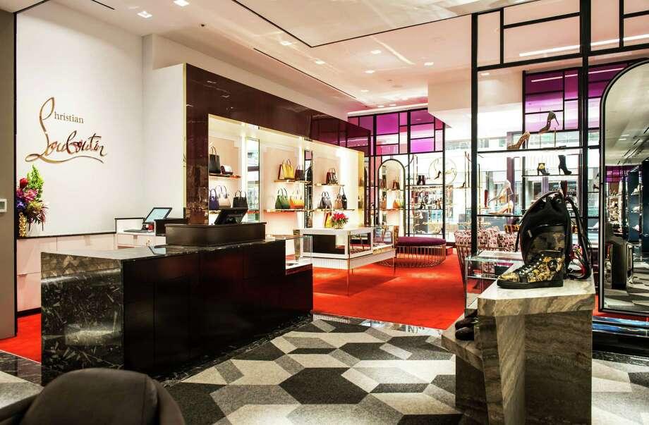 Christian Louboutin boutique in the Houston Galleria Photo: Emile Brown
