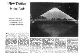 Houston Chronicle inside page (HISTORIC) – September 1, 1968 - section Zest, page 22.
