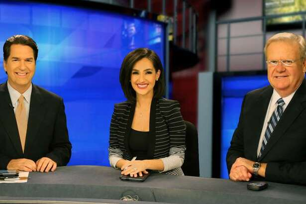 KSAT-TV's 10 p.m. team -- sportscaster Greg Simmons; co-anchors Steve Spriester and Isis Romero; and weathercaster Steve Browne -- help keep the station at the top of the news heap.