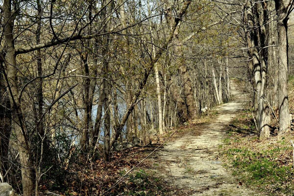 This Sega Meadows trail will be the first leg of the New Milford River Trail, a trail for bike riding.