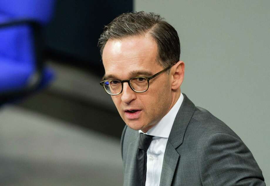 German Justice Minister Heiko Maas attends a debate on the budget during a plenary session at the lower house of Parliament (Bundestag) in Berlin on November 22, 2016.  / AFP PHOTO / dpa / Sebastian Gollnow / Germany OUTSEBASTIAN GOLLNOW/AFP/Getty Images Photo: SEBASTIAN GOLLNOW, Stringer / DPA