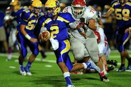 Seymour quarterback Jaylen Kelley passed for 1,615 yards and 26 touchdowns with only three interceptions.