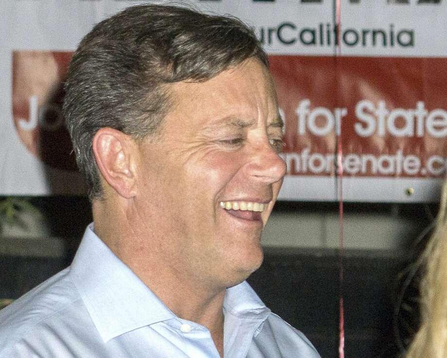 Democrat Josh Newman eked out a state Senate victory. Photo: Rod Veal, Associated Press