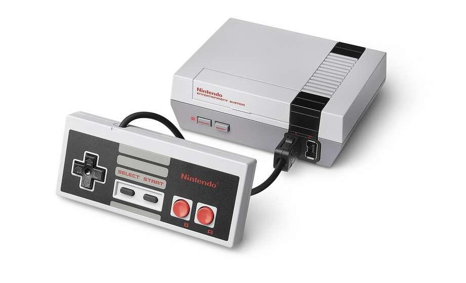 Nintendo's NES Classic Edition game console. Photo: NINTENDO, NYT