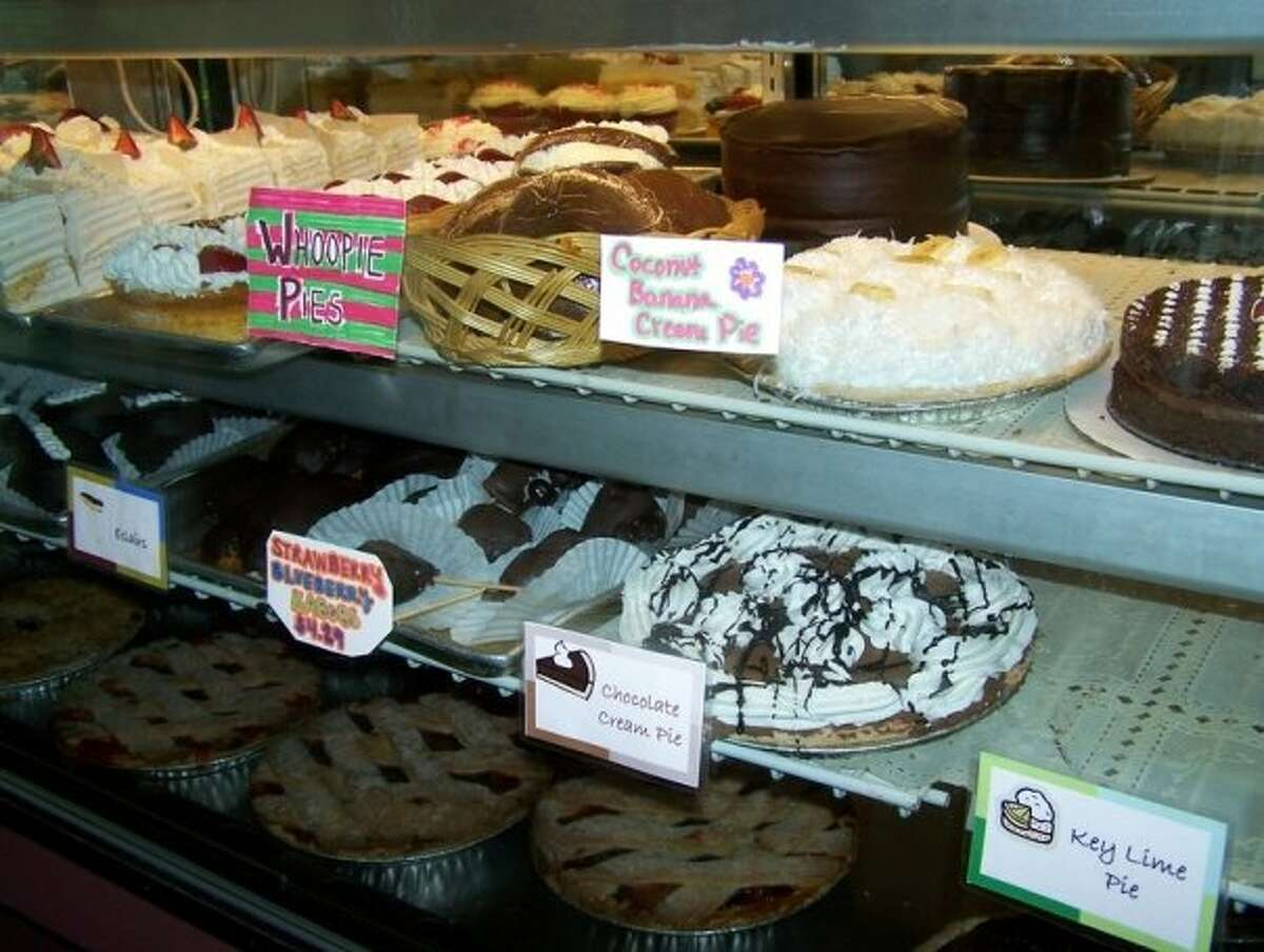 The American Pie Company - Sherman  29 Route 37 Center Other notable pies: Harvest Fruit, Black-Bottom Banana, Pumpkin Mouse