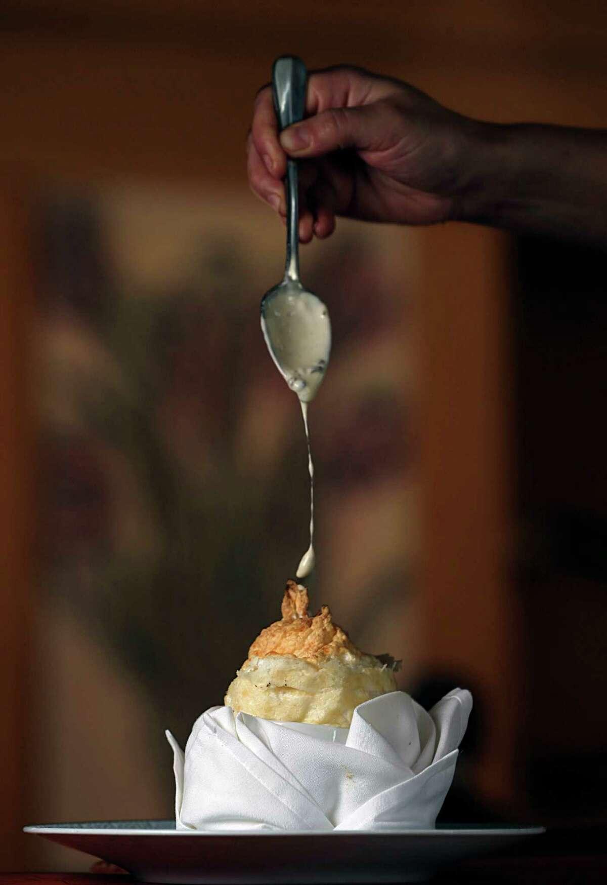 Alba White Truffle Souffle at Tony's
