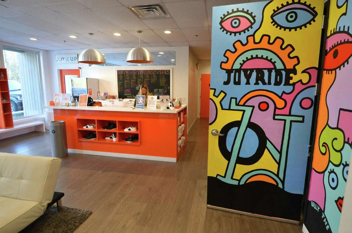 The JoyRide Cycling Studio in Westport.
