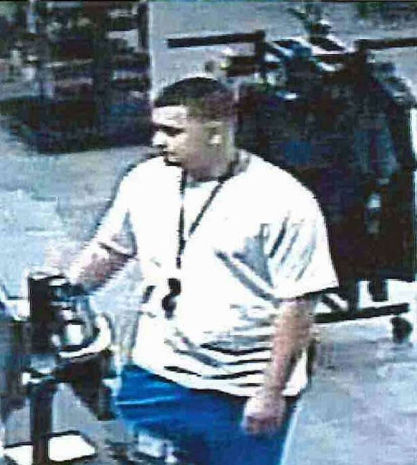 Police asre asking for help in ID'ing the suspect in the theft of two debit cards from a locker at LA Fitness. Photo: Contributed Photo