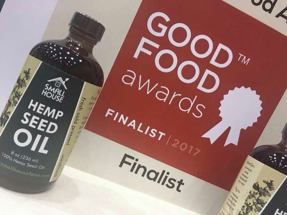 Small House Farm has been nominated for the 2017 Good Food Award for one of their most popular products, freshly cold-pressed Hemp Seed Oil.