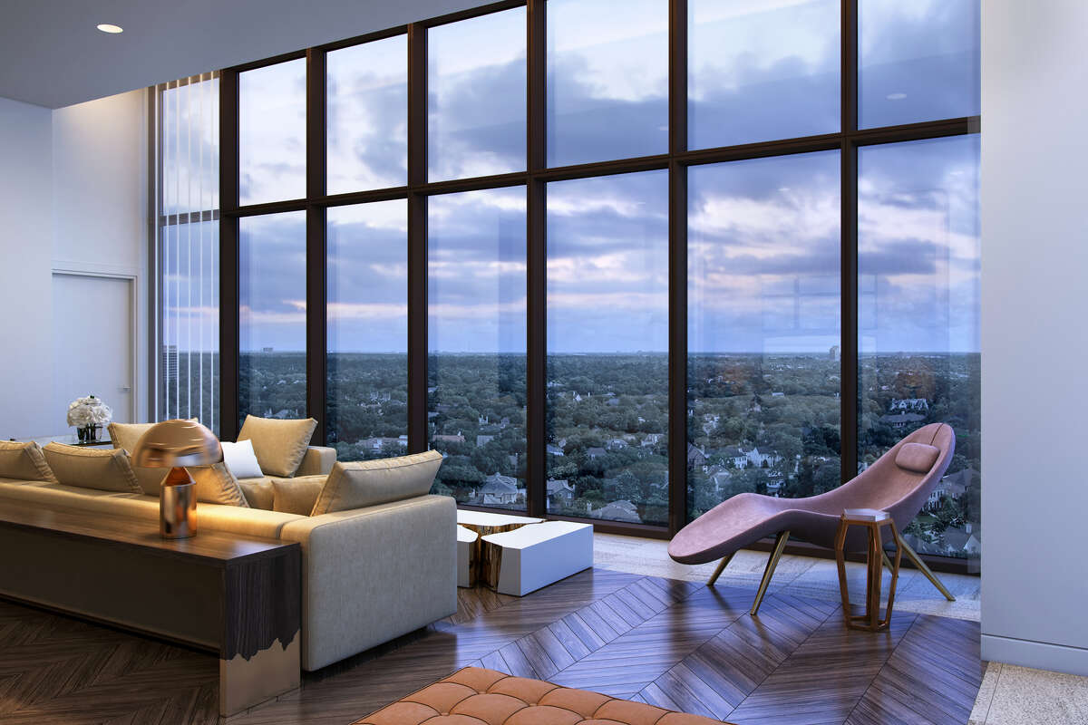 The midcentury modern River Oaks High-rise at 3433 Westheimer is getting a complete makeover as luxury condominiums.