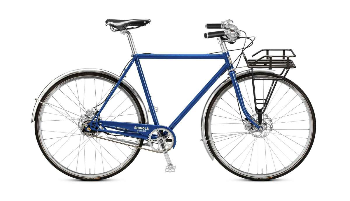 Shinola Runwell bicycle: Cycling to work, running errands or just soaking up fresh air, you'€™ll look even more stylish on Shinola Detroit'€™s Runwell bicycle, designed for urban riding in any weather. Its high-end Shimano Alfine 11-speed internal hub makes it virtually maintenance-free, and an internal cable system keeps cables out of sight; $2,950, available in red, black or Regatta blue at shinola.com.