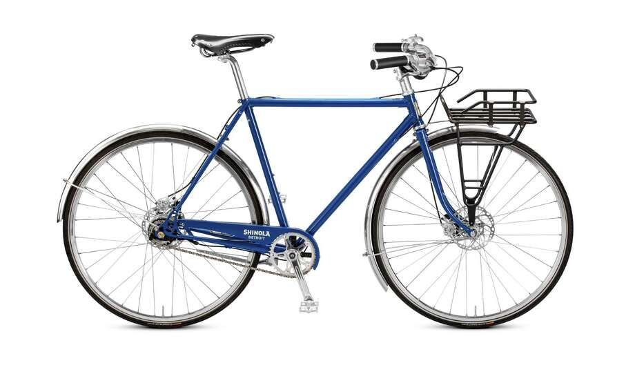 Shinola Runwell bicycle:Cycling to work, running errands or just soaking up fresh air, you'€™ll look even more stylish on Shinola Detroit'€™s Runwell bicycle, designed for urban riding in any weather. Its high-end Shimano Alfine 11-speed internal hub makes it virtually maintenance-free, and an internal cable system keeps cables out of sight; $2,950, available in red, black or Regatta blue at shinola.com. Photo: Shinola