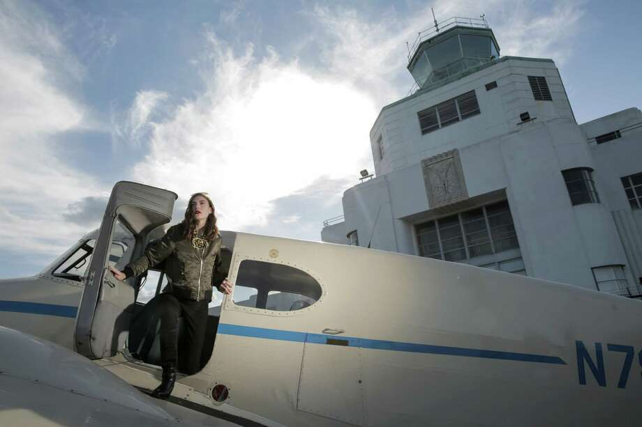 Bomber jackets are on trend for this fall/winter season. Photo: Elizabeth Conley, Staff / © 2016 Houston Chronicle