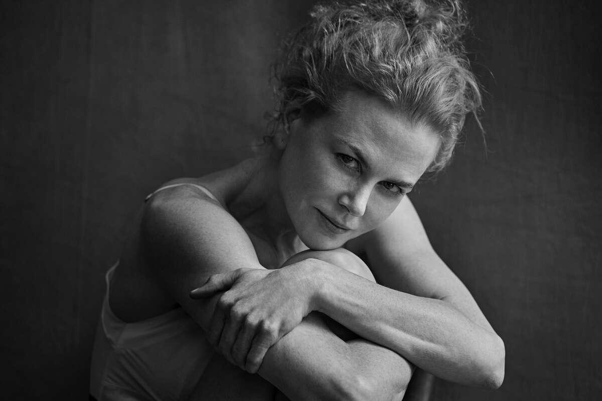 Nicole Kidman poses for the 2017 Pirelli Calendar.