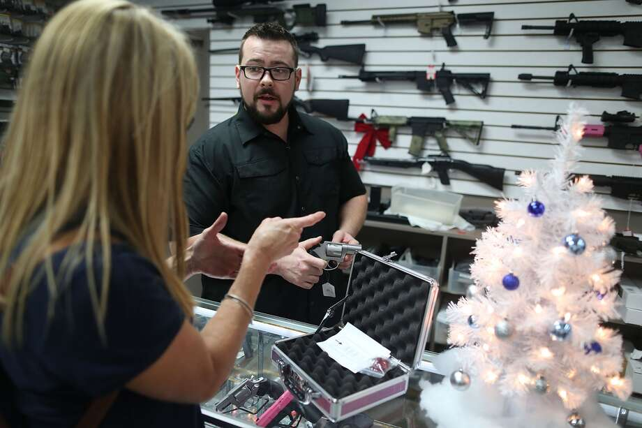 The FBI says background checks for potential gun buyers broke records on Black Friday. >>Click to see gun law changes in Texas. Photo: Getty