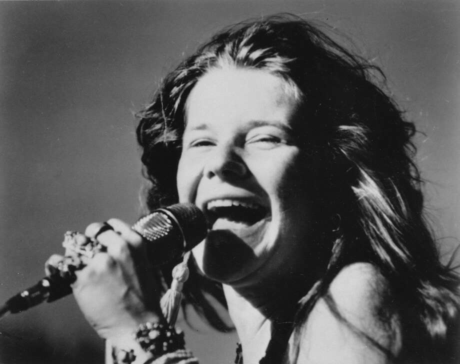 Rock singer Janis Joplin, show here in 1969, will be the subject of a play at ACT. Photo: Anonymous, ASSOCIATED PRESS