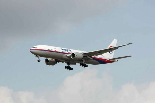 9M-MRO, an 11-year old Boeing 777, on approach to Los Angeles International Airport three months before it disappeared.