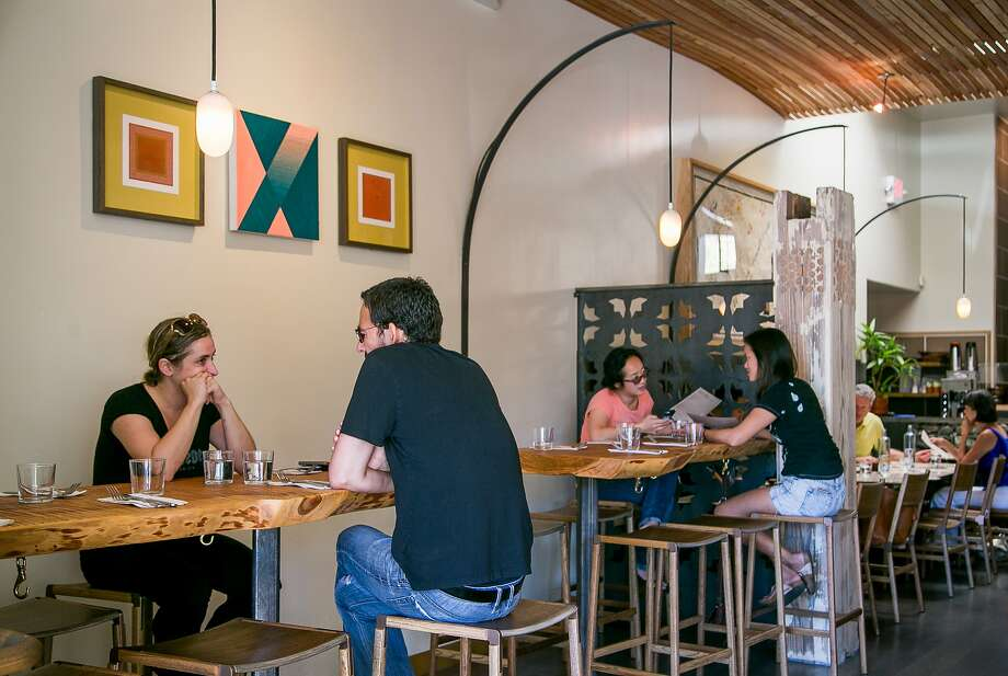 Diners have brunch at Shakewell in Oakland. Photo: John Storey, Special To The Chronicle