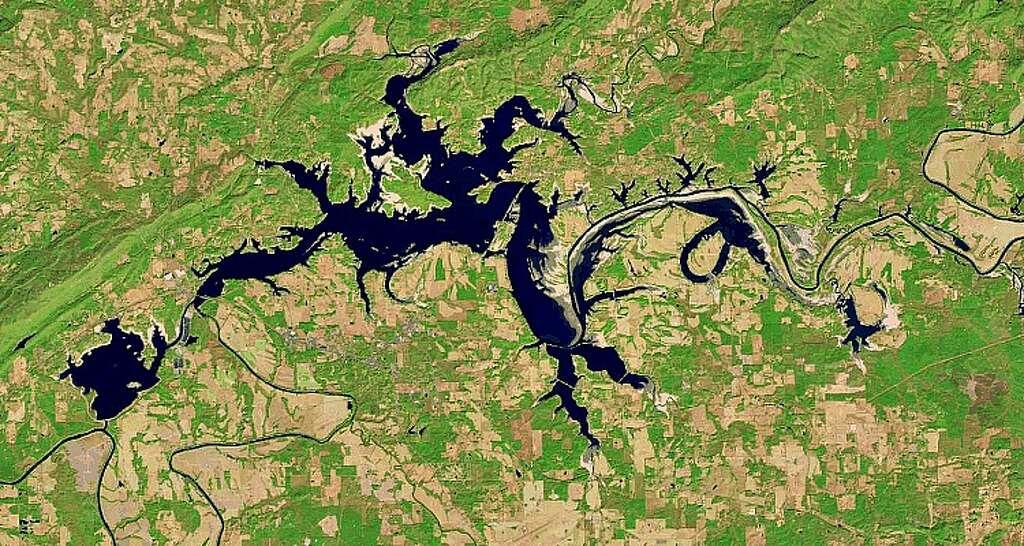 Weiss Lake Alabama 2016 Photo File Nasa Via The Landsat Program