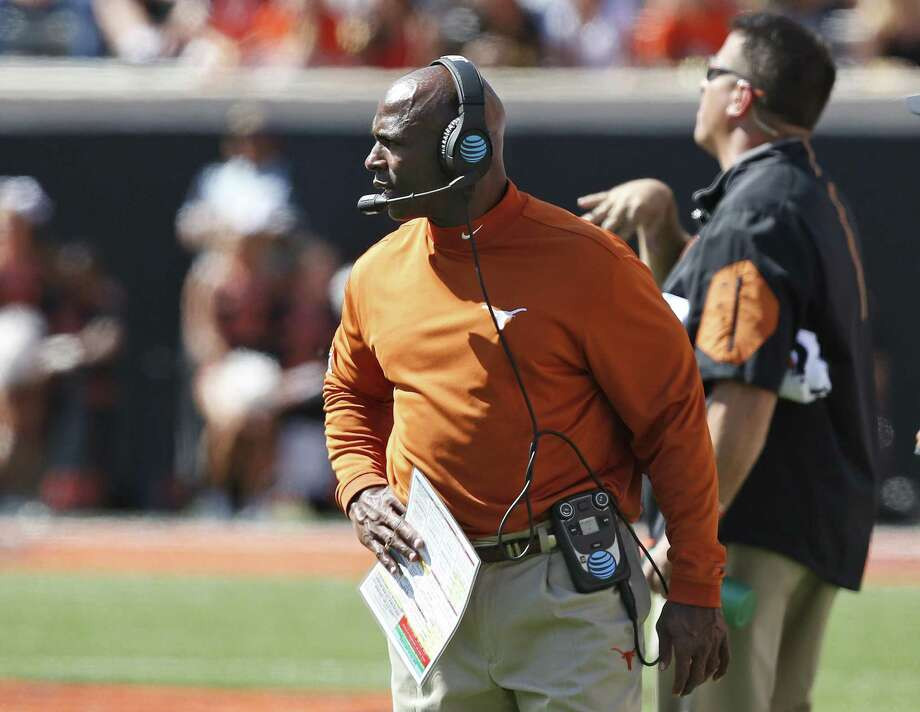 The University of Texas has fired head football coach Charlie Strong, and a reader laments that he will be leaving with a big chunk of cash. Photo: Sue Ogrocki /Associated Press / AP2016