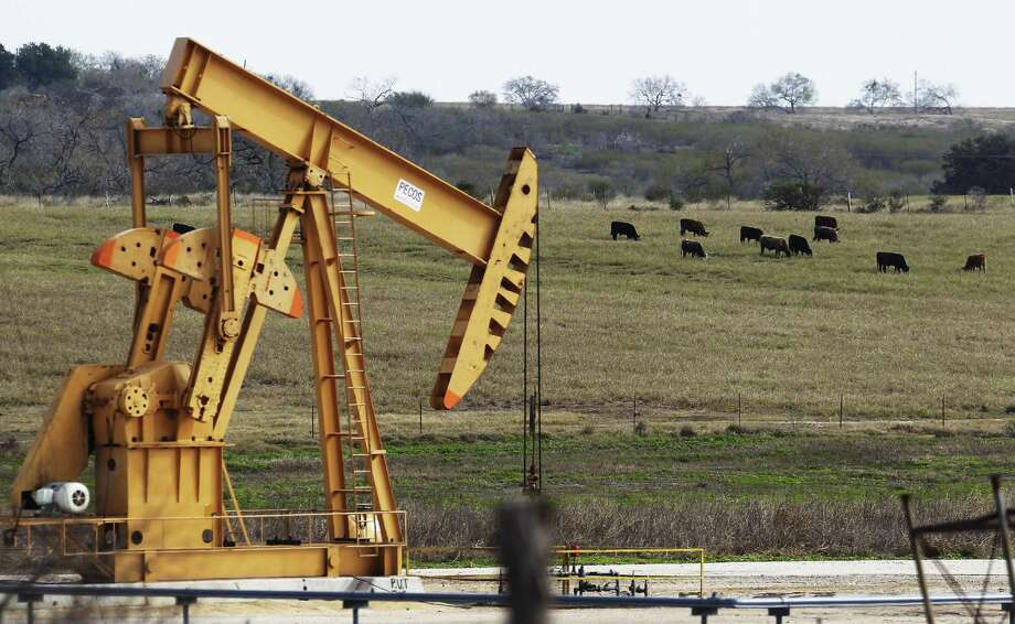 Karnes County pumped more than 5 million barrels of oil in September, making it the state's top crude oil producer, according to preliminary data from the Railroad Commission of Texas, the state's oil and gas regulator. It was also among the state's top producers of natural gas and the light oil condensate. Photo: San Antonio Express-News /File Photo / ©2015 San Antonio Express-News