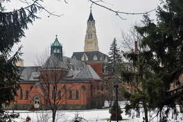 The Kenwood convent, formerly the Doane Stuart School, is on the Seven to Save list of the Endangered Properties Program of the Preservation League of New York State, seen here in Albany, NY Tuesday January 19, 2010.   (Philip Kamrass / Times Union)